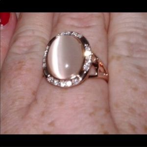 COMING SOON ROSEGOLD opal ring